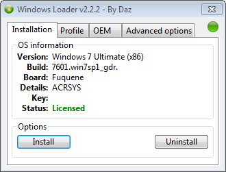 windows 7 key generator by daz