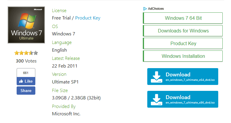 download activation key for windows 7 ultimate 64 bit
