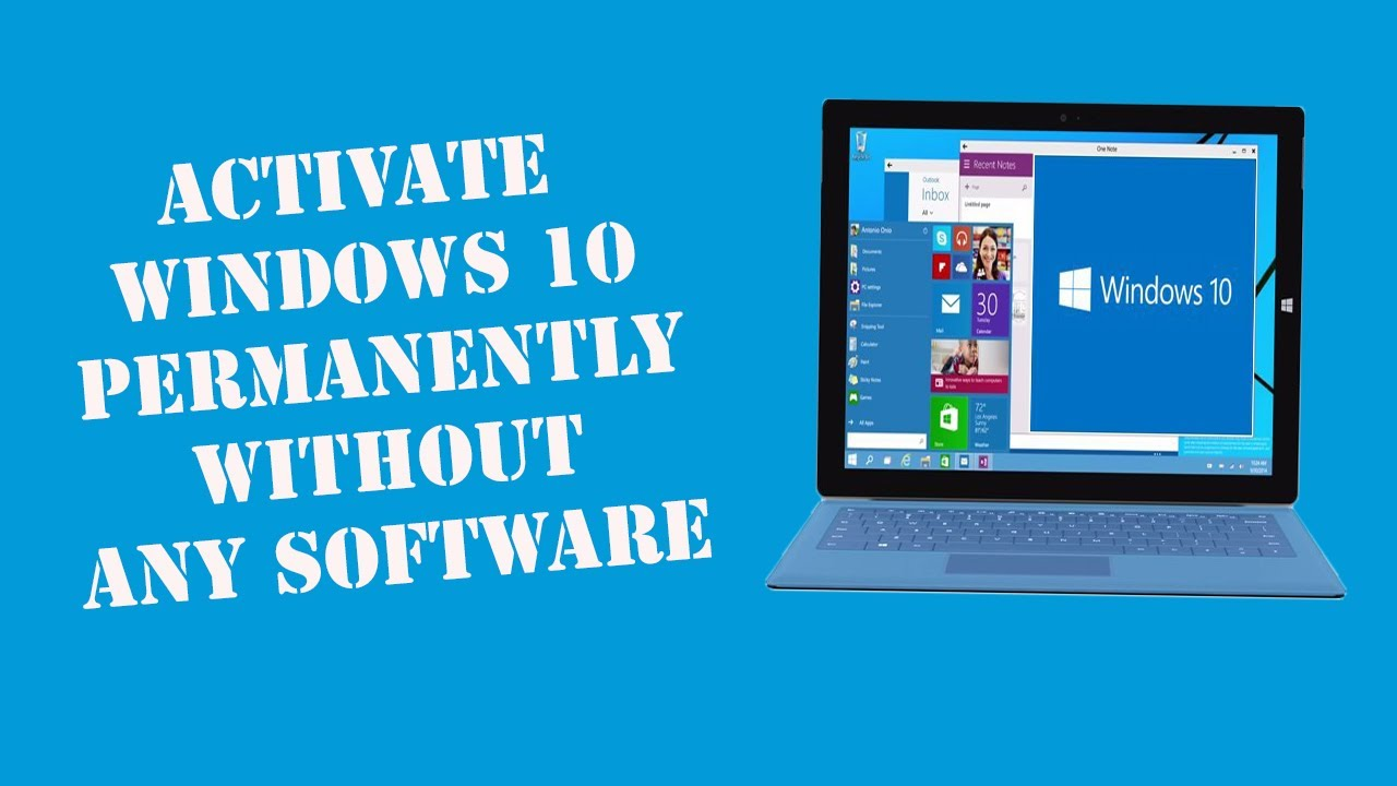 How to Activate Windows 10 Pro Permanently after 180 Days