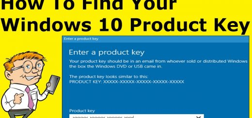How to Find your Windows 10 Product Key?