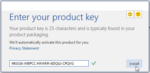 ms office 2018 with product key