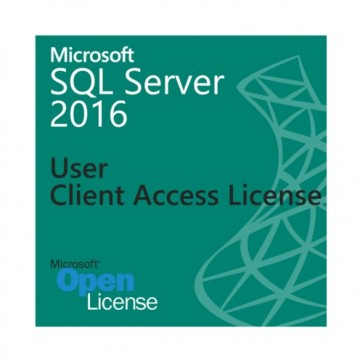 Microsoft SQL Server 2016 Activation - 1 User Client Access License