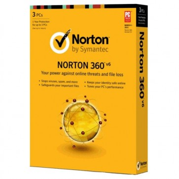 Norton 360 2016 1 Year License Number - 3 PCs/Household