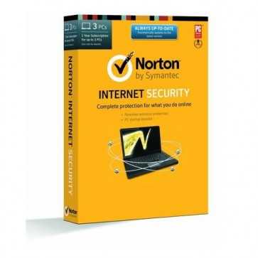 Norton Internet Security 2014 License Key - 1 User/3 PCs