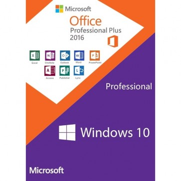 Windows 10 Pro Key + Office Professional Plus 2016 Key (Value Package)