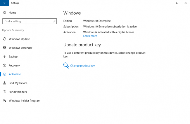 Windows 10 Enterprise Product Key 32/64 Bit