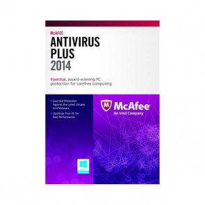 McAfee AntiVirus Plus 2014 Product Key - 3 PCs