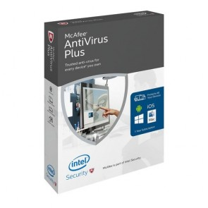 McAfee AntiVirus Plus 2016 Product Key - PC - 1 PC