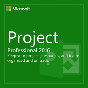 Microsoft Project Professional 2016 Product Key (32/64 Bit)