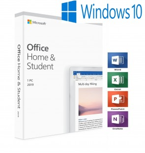 MICROSOFT OFFICE 2019 HOME & STUDENT FOR WINDOWS LIFETIME LICENSE