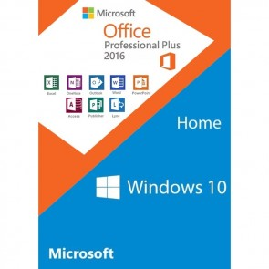 Windows 10 Home Key + Office Professional Plus 2016 Key (Value Package)