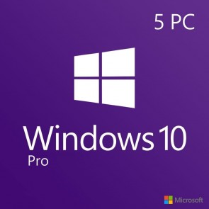 Windows 10 Pro CD-Key Global (5 PC)