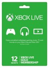 Xbox Live 12-Month Gold Membership Digital Code (Global)