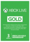 Xbox Live 3-Month Gold Membership Digital Code (Global)