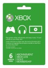 Xbox Live 6-Month Gold Membership Digital Code (Global)