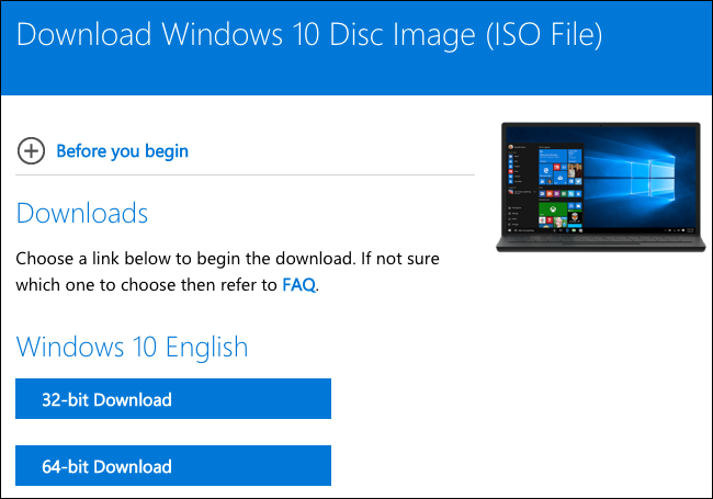 how to download windows 10 onto a disc